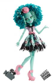Кукла Хани Свомп (Honey Swamp), серия Страх, Камера, Мотор!, MONSTER HIGH