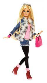 Кукла Барби Fur Jacket, серия Уличный стиль, BARBIE