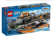 Lego City 60085 Внедорожник 4x4 с гоночным катером #