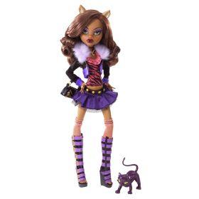 Кукла Клодин Вульф (Clawdeen Wolf), базовая с питомцем, MONSTER HIGH