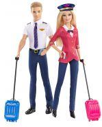 Игровой набор Барби и Кен Пилоты, серия Кем быть, BARBIE